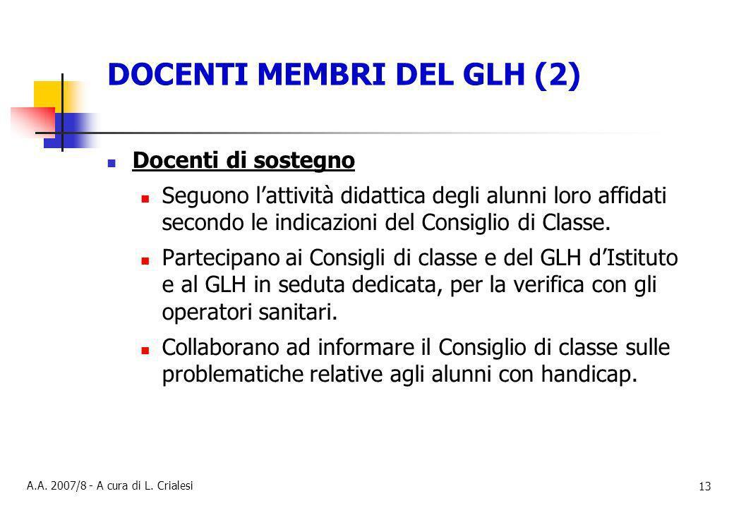 DOCENTI MEMBRI DEL GLH (2)