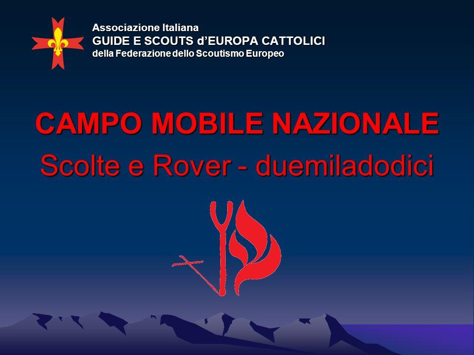 CAMPO MOBILE NAZIONALE Scolte e Rover - duemiladodici
