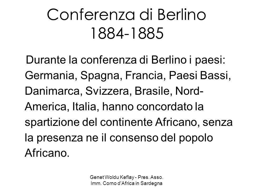 Conferenza di Berlino 1884-1885