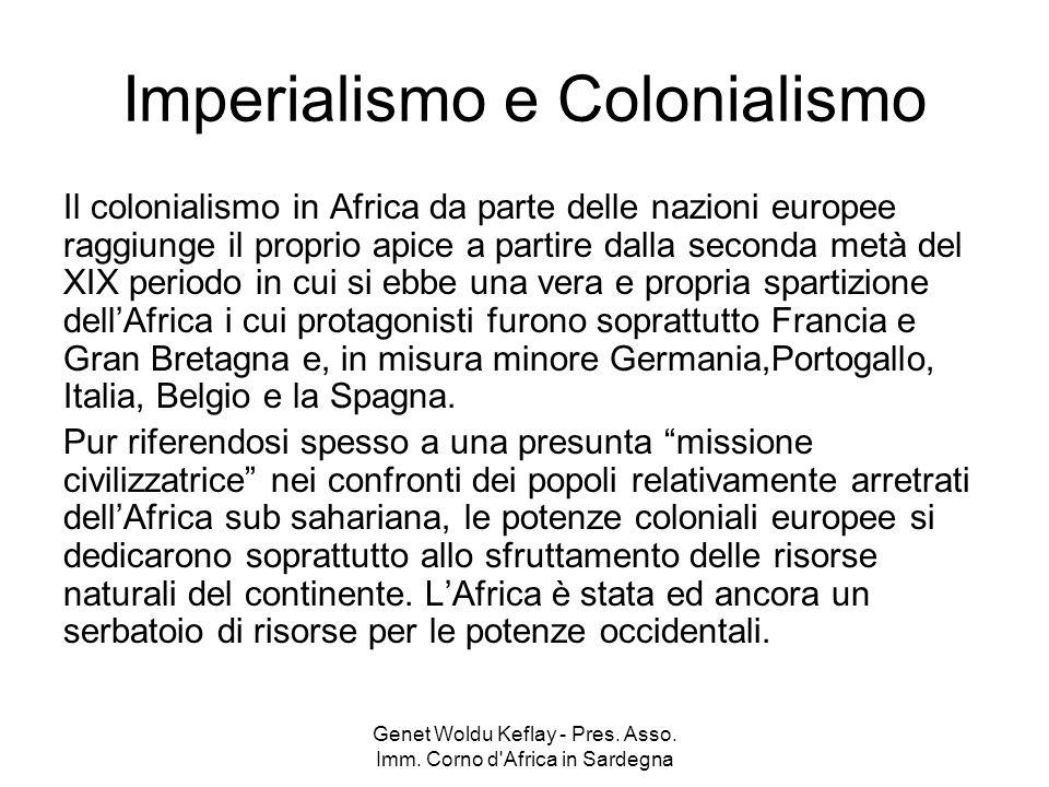 Imperialismo e Colonialismo