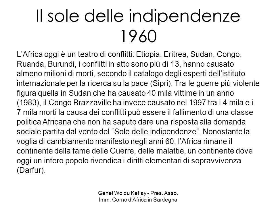 Il sole delle indipendenze 1960
