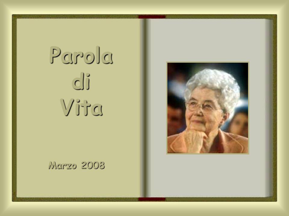 Parola di Vita Marzo 2008