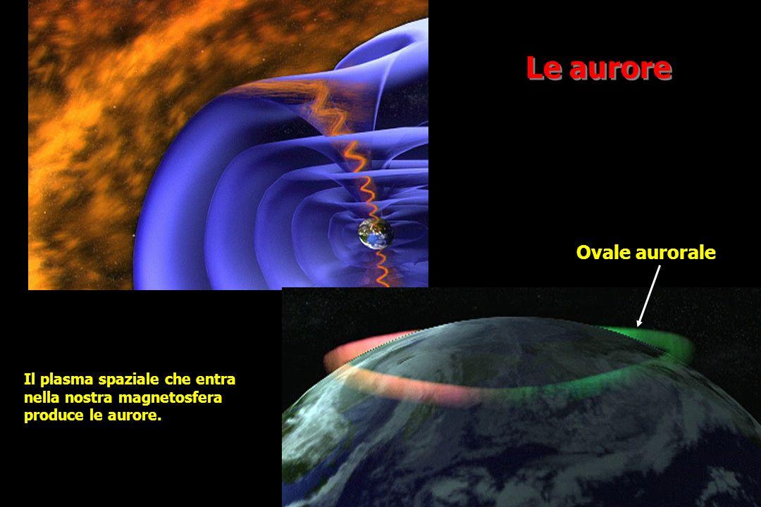 Le aurore Ovale aurorale