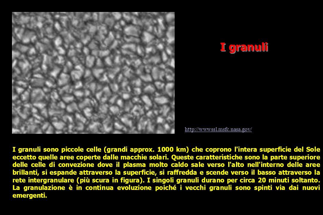 I granuli http://wwwssl.msfc.nasa.gov/