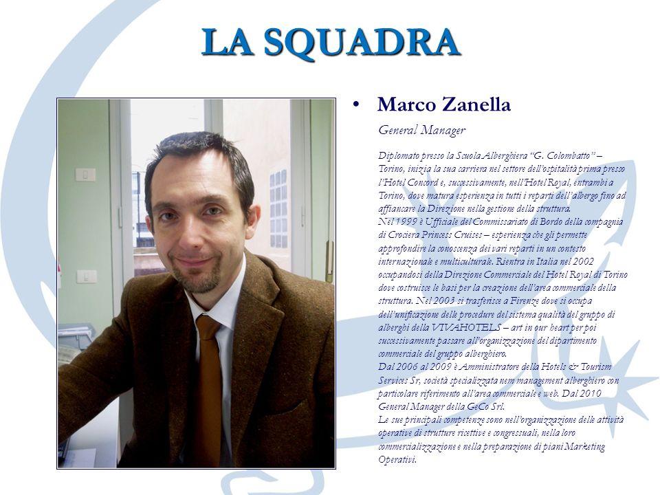 LA SQUADRA Marco Zanella General Manager