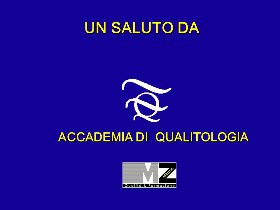 ACCADEMIA DI QUALITOLOGIA