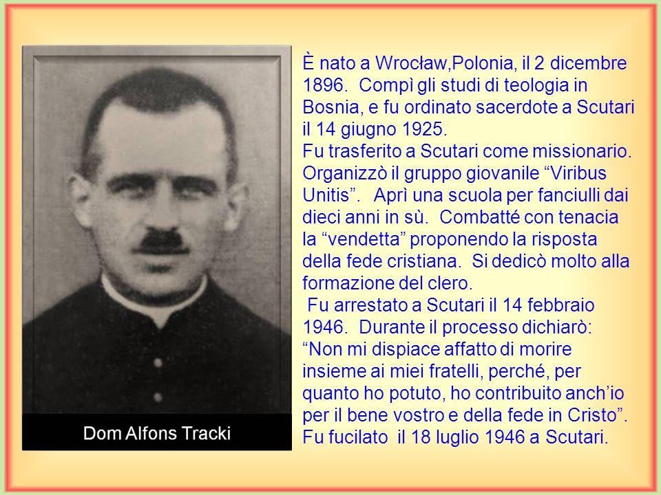 È nato a Wrocław,Polonia, il 2 dicembre 1896