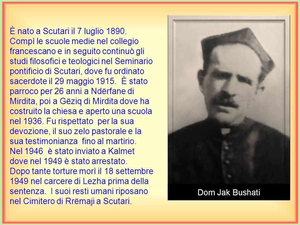 È nato a Scutari il 7 luglio 1890.