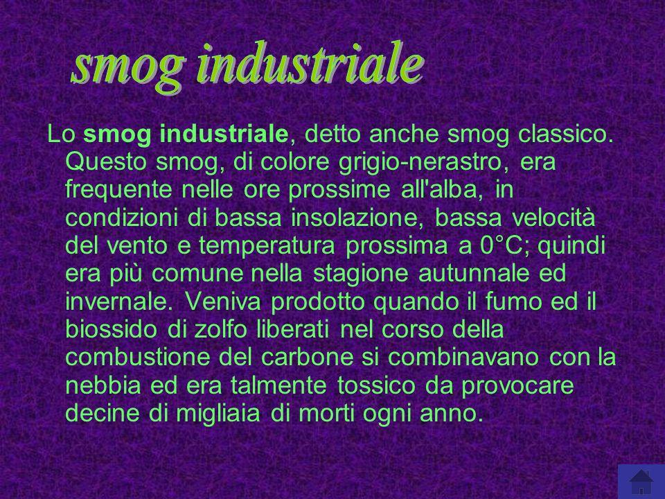 smog industriale
