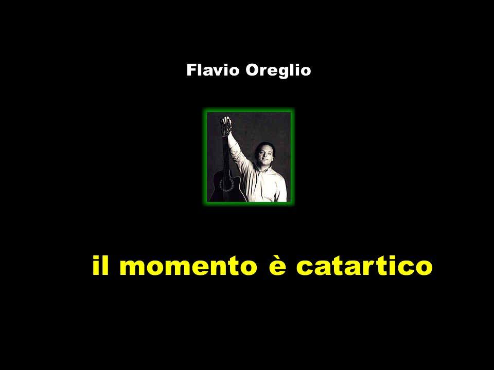Flavio Oreglio il momento è catartico