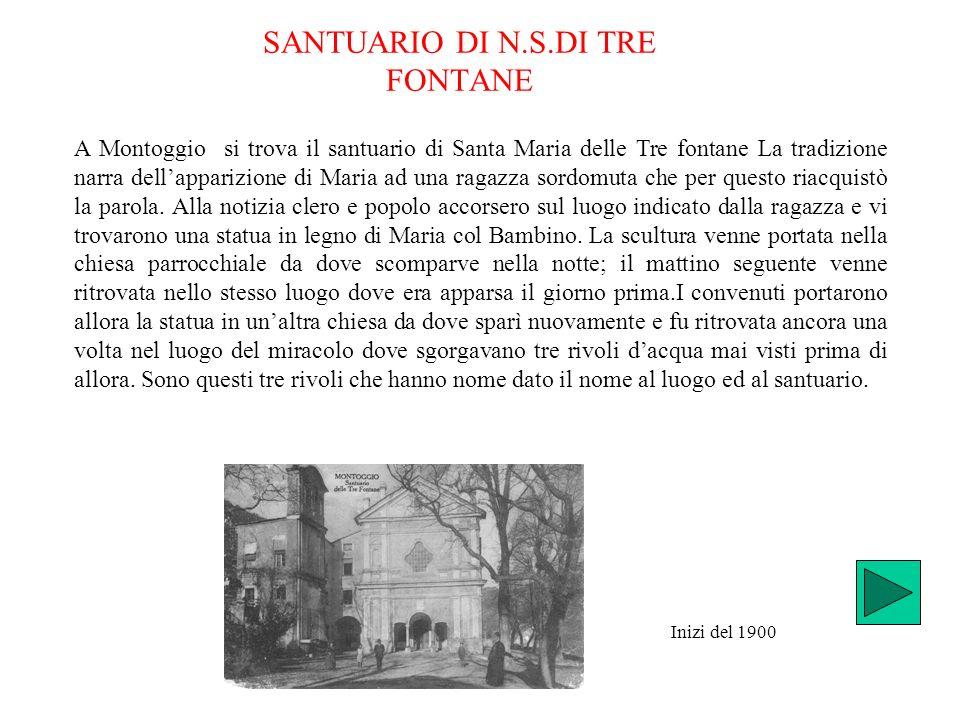 SANTUARIO DI N.S.DI TRE FONTANE