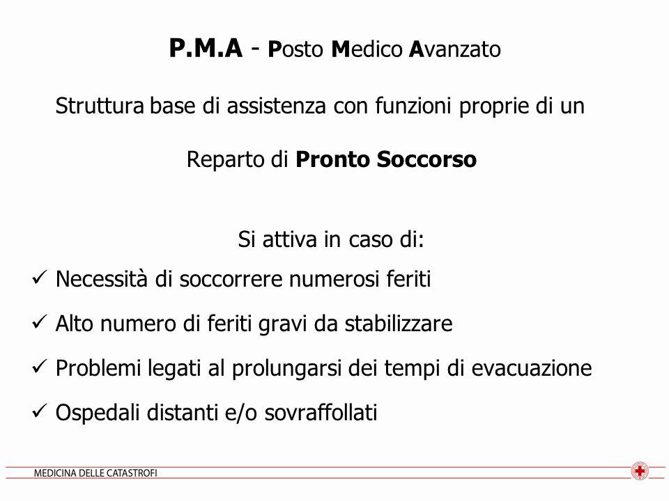 P.M.A - Posto Medico Avanzato