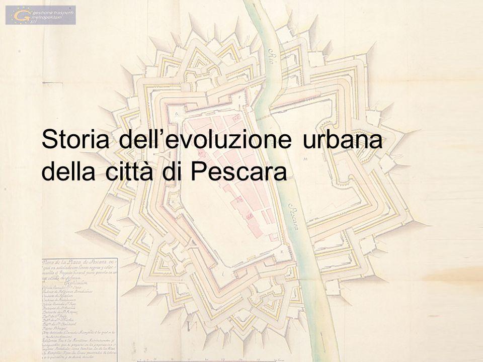 Storia dell'evoluzione urbana della città di Pescara