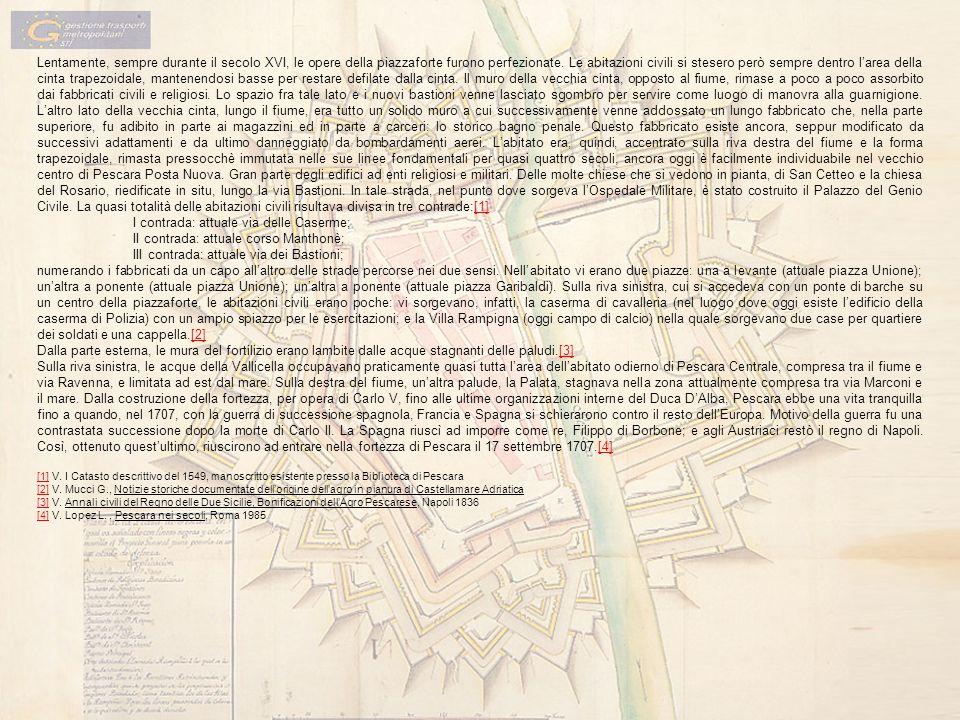 I contrada: attuale via delle Caserme;