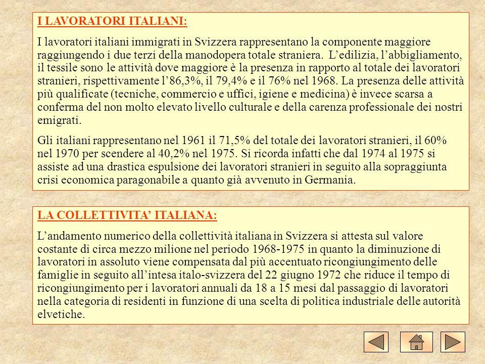 I LAVORATORI ITALIANI: