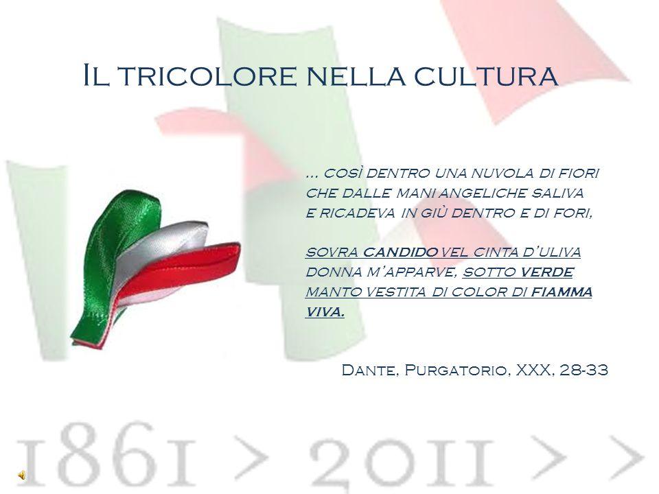 Il tricolore nella cultura