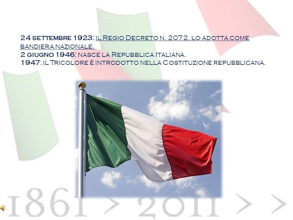 24 settembre 1923: il Regio Decreto n
