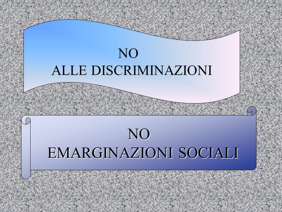 EMARGINAZIONI SOCIALI