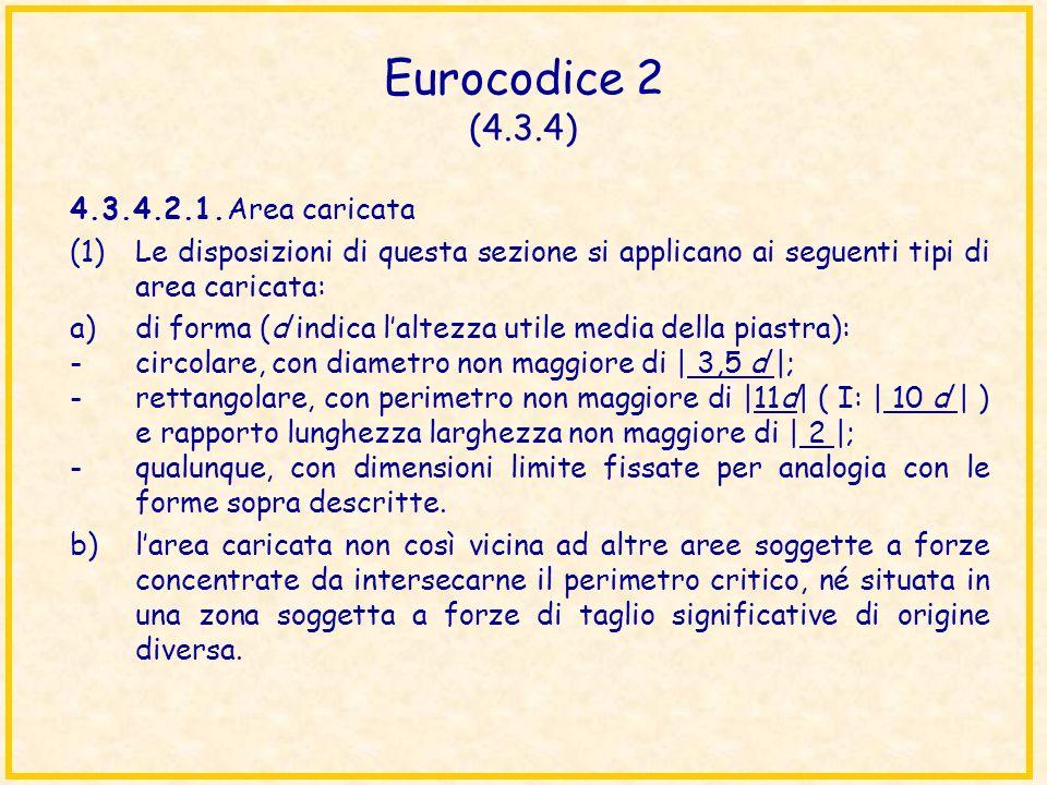 Eurocodice 2 (4.3.4) 4.3.4.2.1. Area caricata