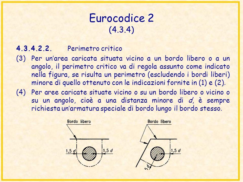Eurocodice 2 (4.3.4) 4.3.4.2.2. Perimetro critico