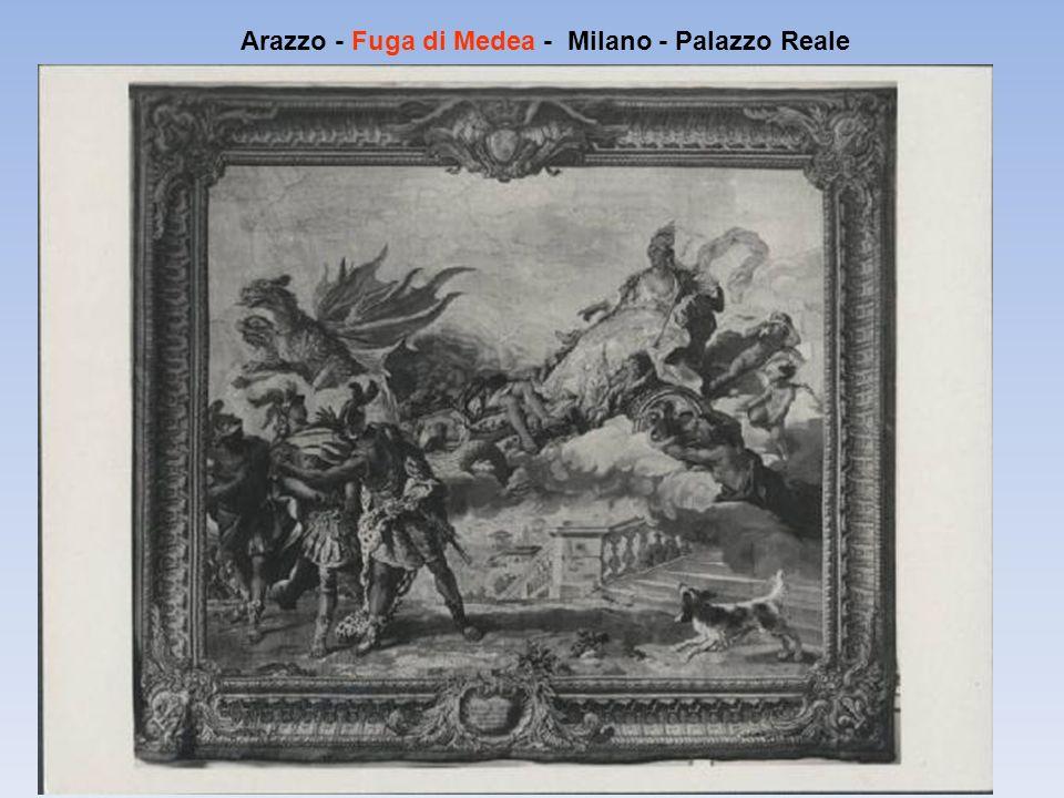 Arazzo - Fuga di Medea - Milano - Palazzo Reale