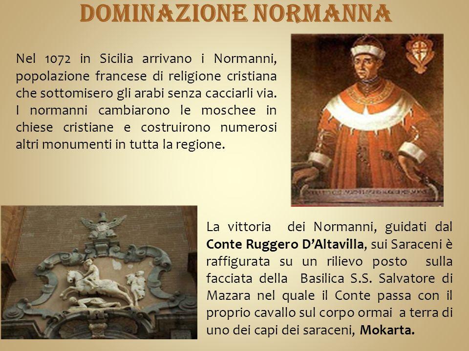 DOMINAZIONE NORMANNA