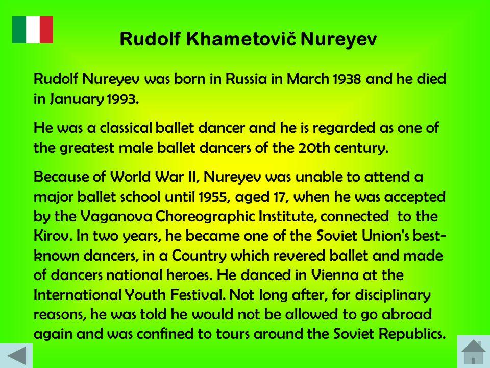 Rudolf Khametovič Nureyev