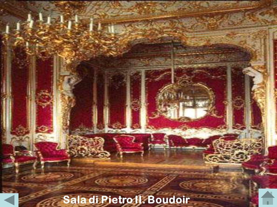 Sala di Pietro II. Boudoir