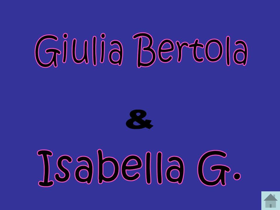 Giulia Bertola & Isabella G.