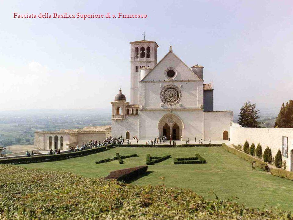 Facciata della Basilica Superiore di s. Francesco