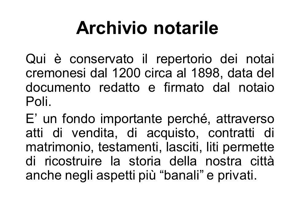 Archivio notarile