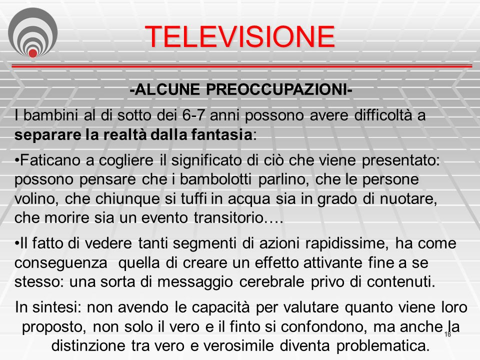 -ALCUNE PREOCCUPAZIONI-