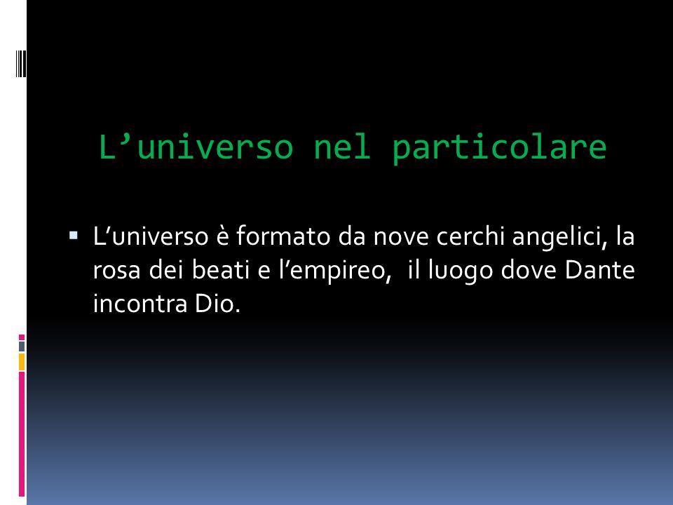 L'universo nel particolare
