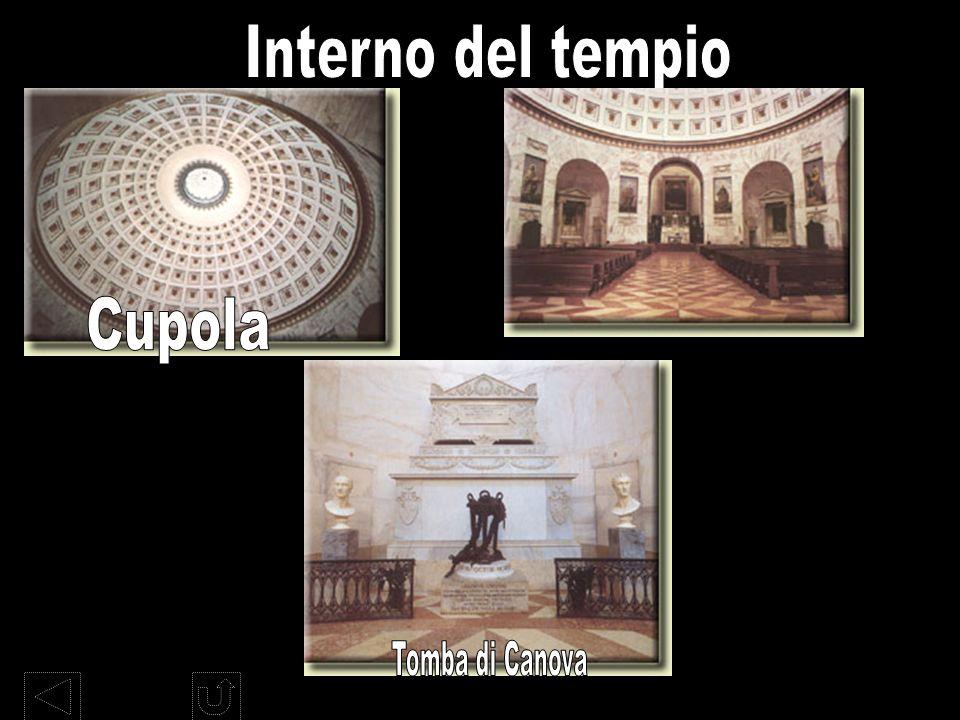 Interno del tempio Cupola Tomba di Canova