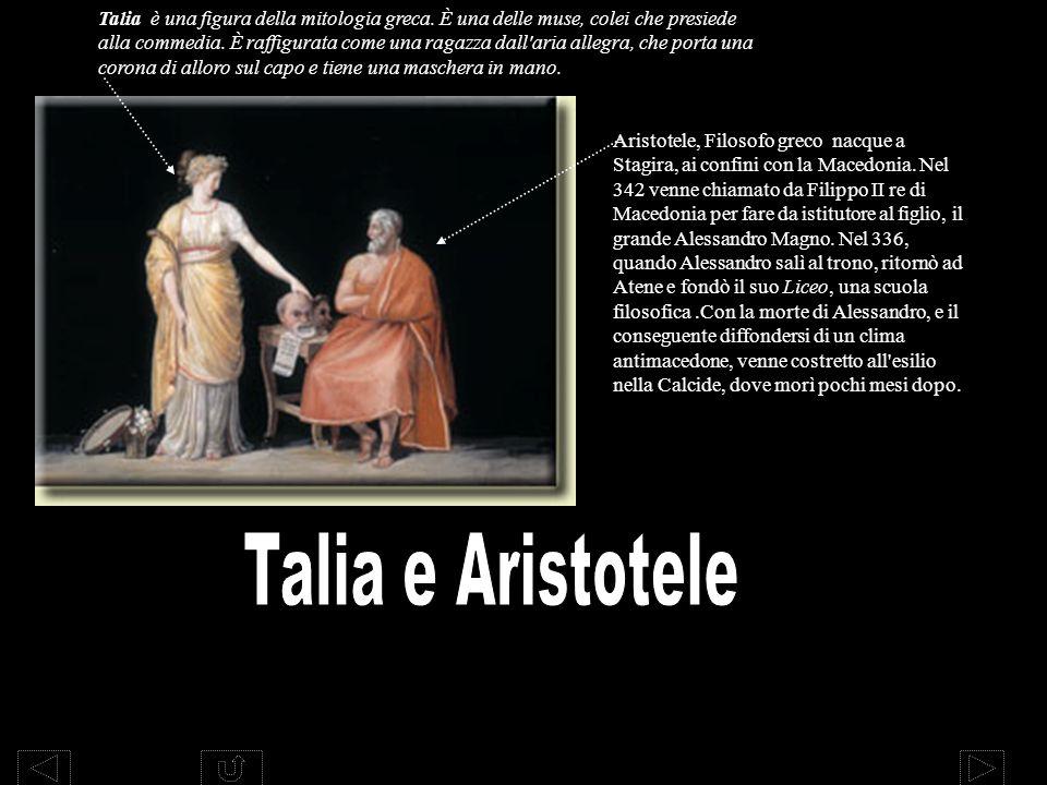 Talia è una figura della mitologia greca