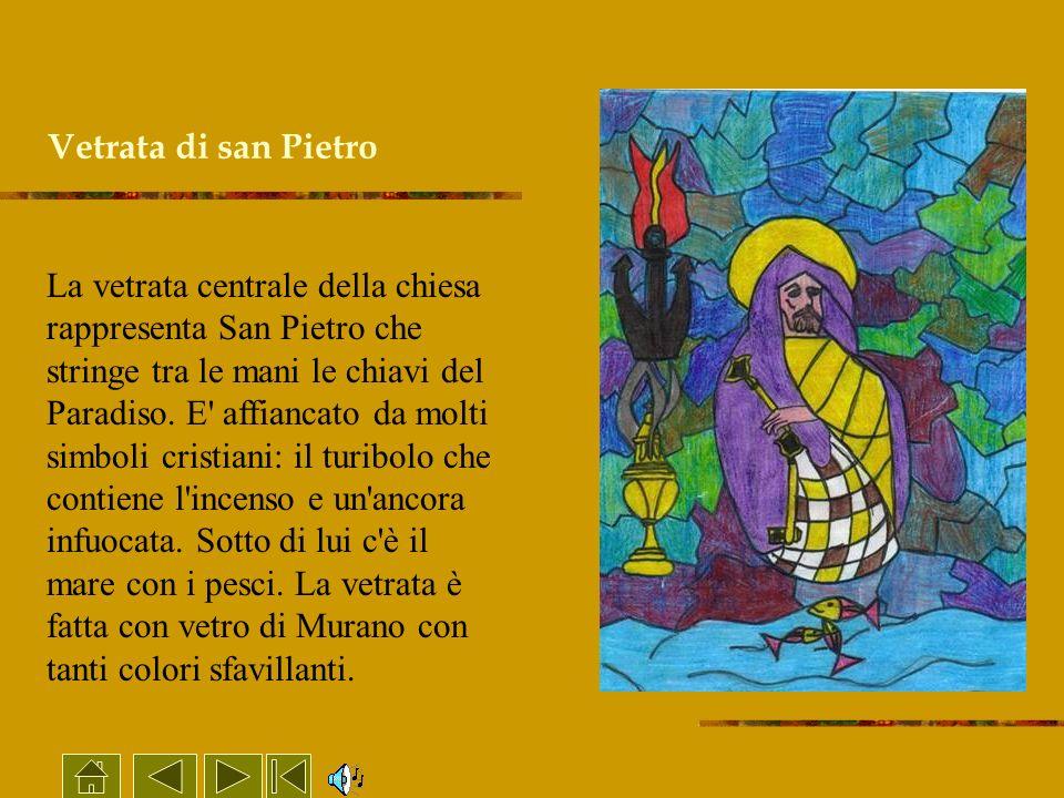 Vetrata di san Pietro