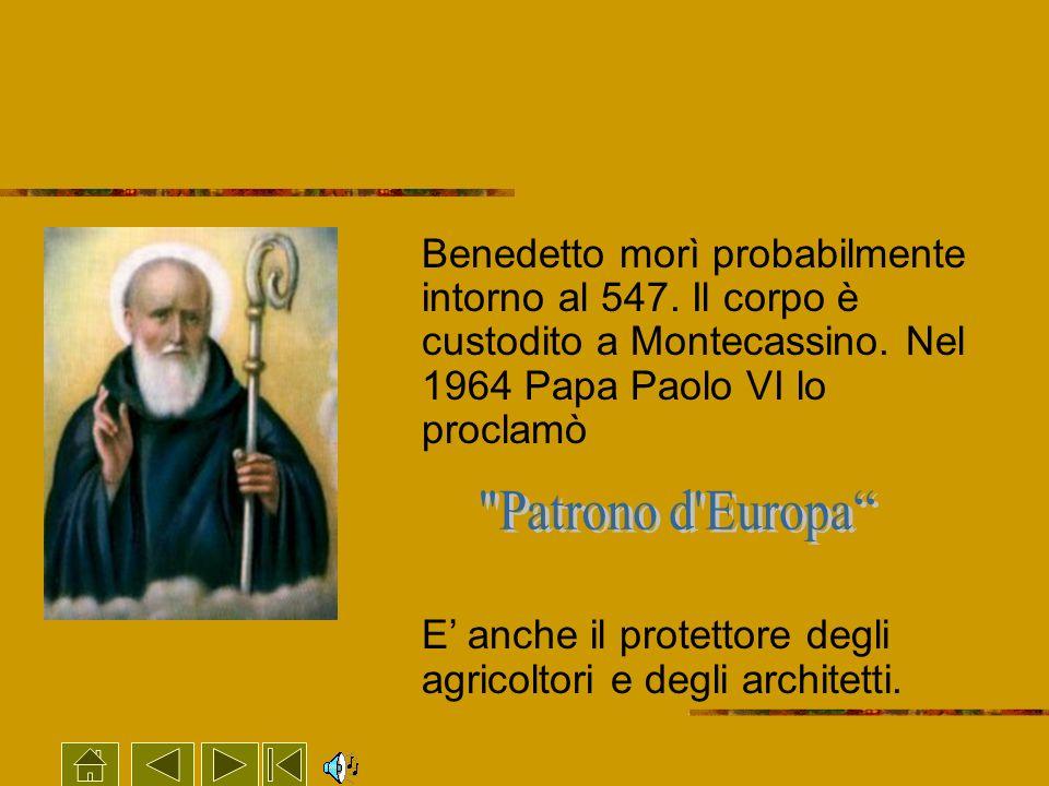 E' anche il protettore degli agricoltori e degli architetti.