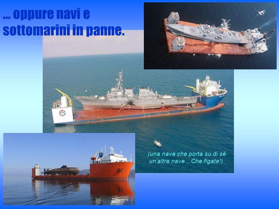 (una nave che porta su di sé un'altra nave…Che figata!)