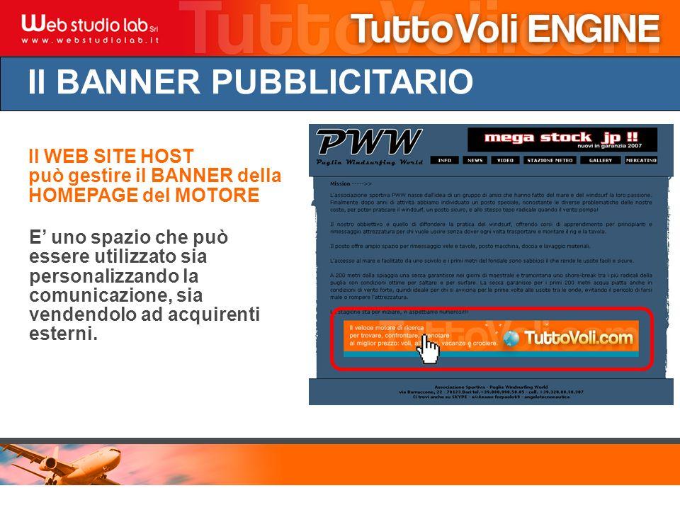 Il BANNER PUBBLICITARIO