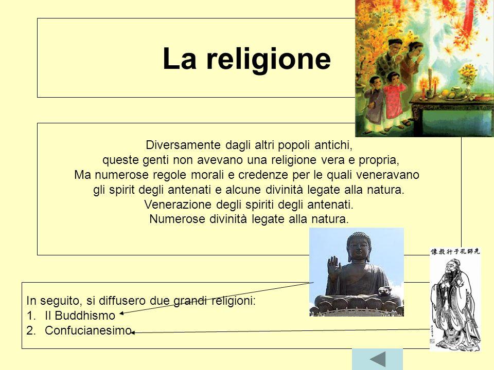 La religione Diversamente dagli altri popoli antichi,
