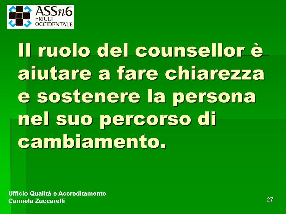 Il ruolo del counsellor è aiutare a fare chiarezza e sostenere la persona nel suo percorso di cambiamento.