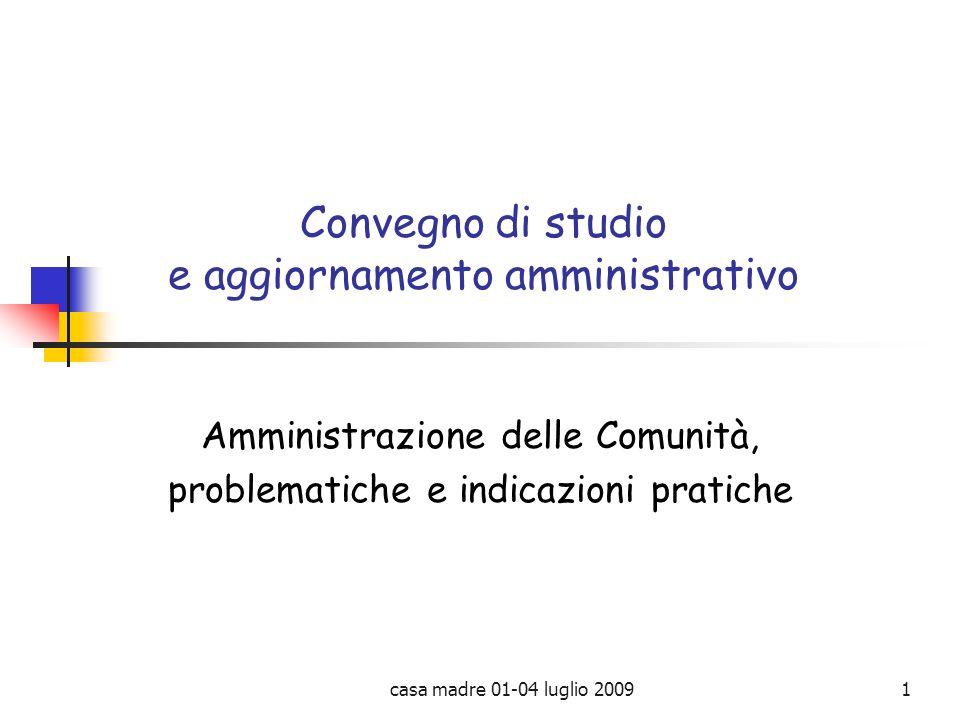 Convegno di studio e aggiornamento amministrativo