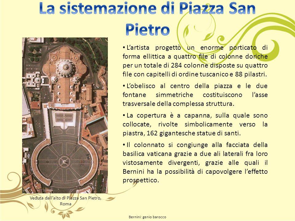 La sistemazione di Piazza San Pietro