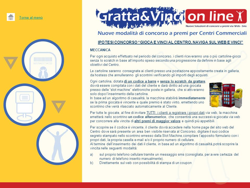 IPOTESI CONCORSO GIOCA E VINCI AL CENTRO, NAVIGA SUL WEB E VINCI