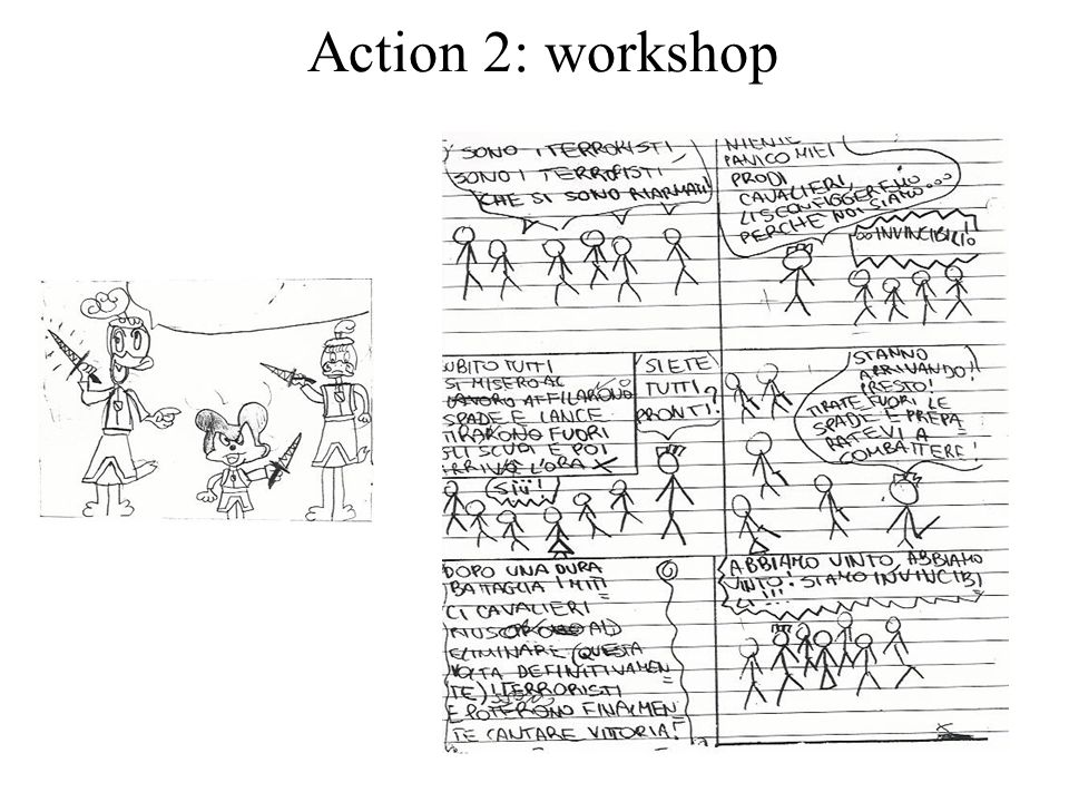 Action 2: workshop