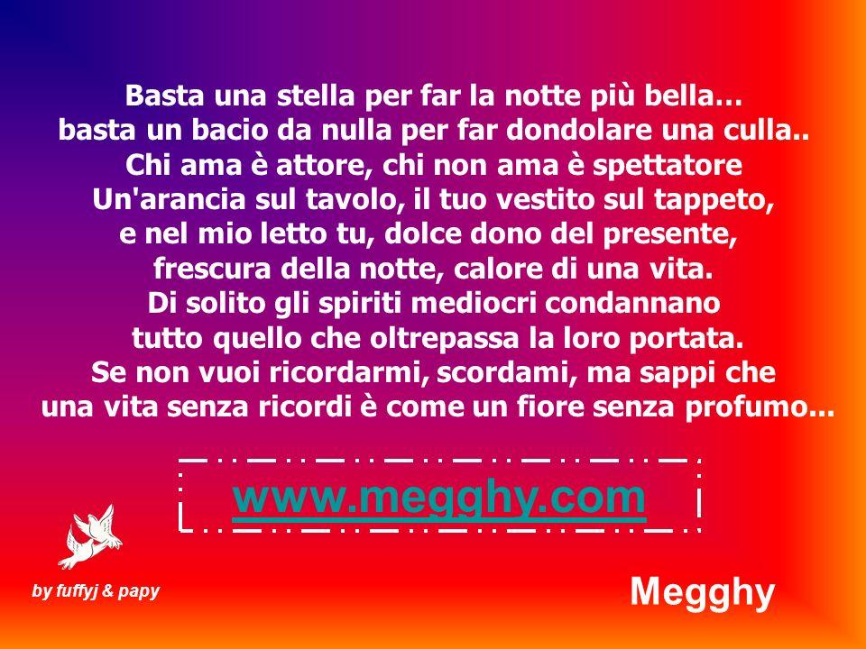 www.megghy.com Megghy Basta una stella per far la notte più bella…