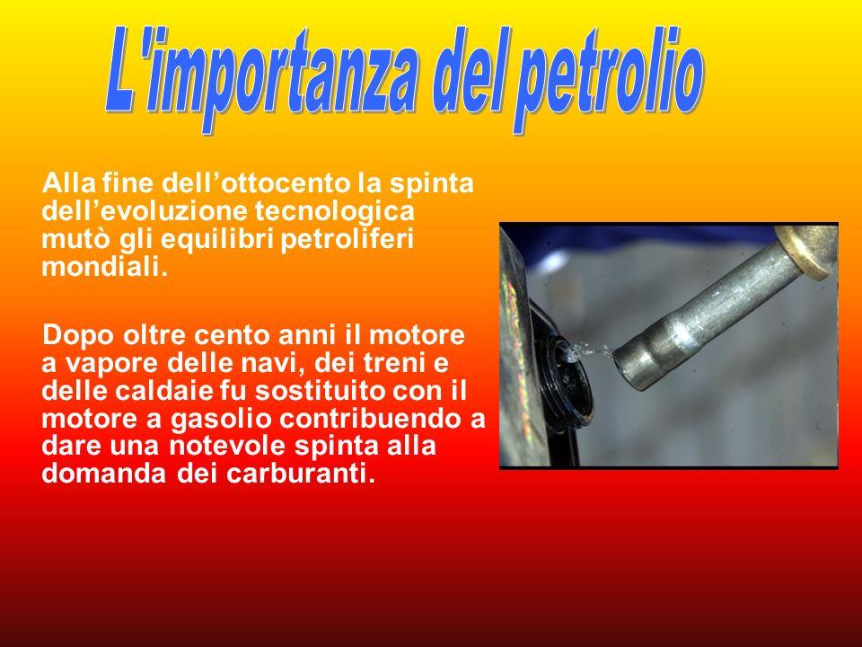 L importanza del petrolio