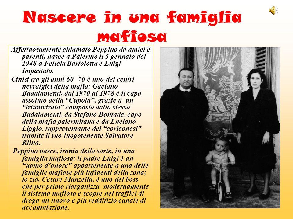 Nascere in una famiglia mafiosa