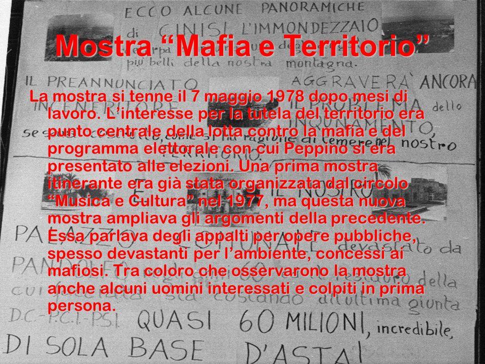 Mostra Mafia e Territorio