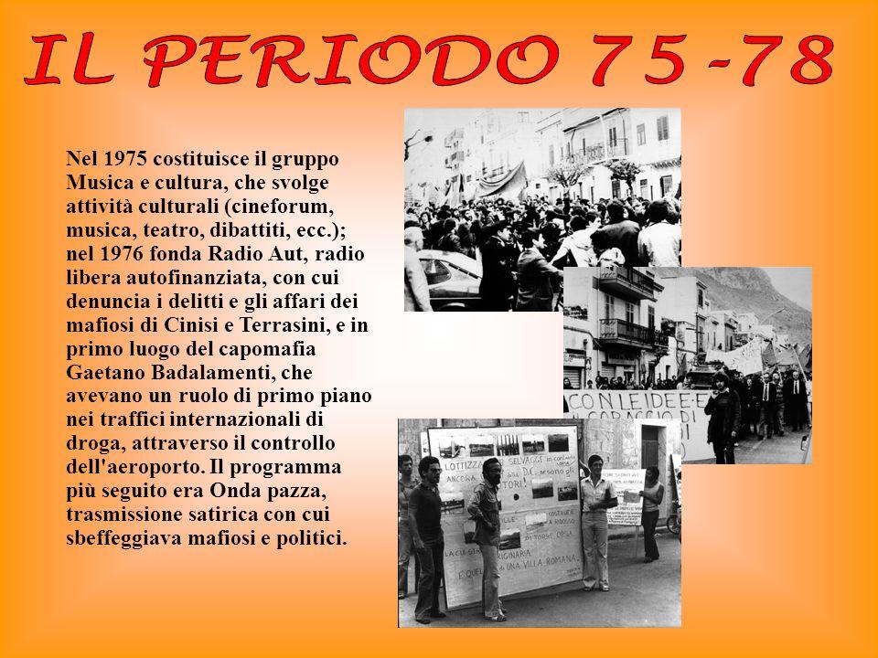 IL PERIODO 75-78